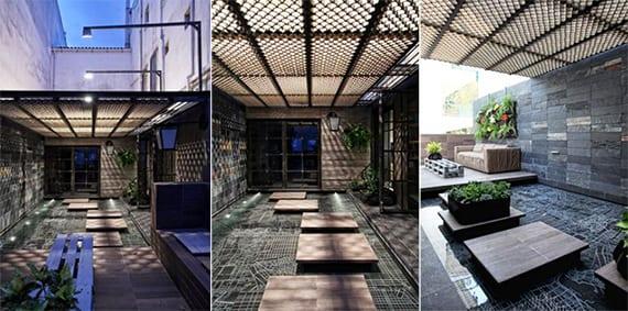 überdachte terrasse-ideen terrassengestaltung - fresHouse