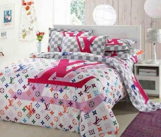 louis vuitton bettw sche pink freshouse. Black Bedroom Furniture Sets. Home Design Ideas