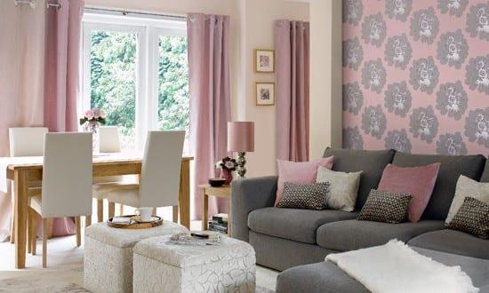 Altrosa Wandfarbe Wohnzimmer Inspirationen