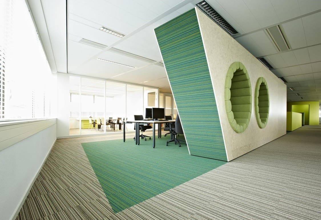 Büro design ideen  Modern Office Design Inspiration Fantastic Office Interior Green ...