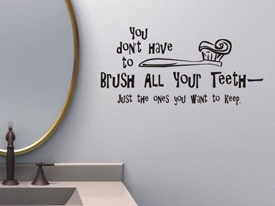 badezimmer wandtattoo sprüche - fresHouse
