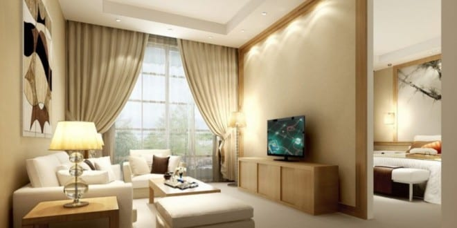 beige wandfarbe kleines wohnzimmer gestalten freshouse. Black Bedroom Furniture Sets. Home Design Ideas