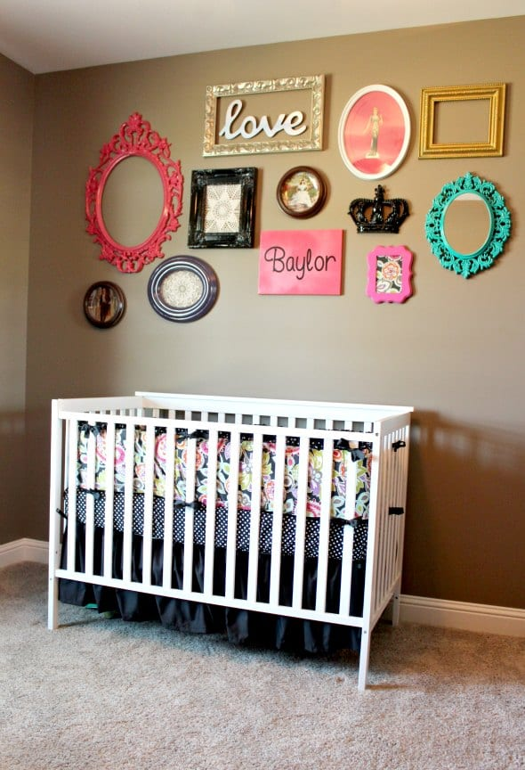 bilderrahmen dekorieren babyzimmer gestalten freshouse. Black Bedroom Furniture Sets. Home Design Ideas