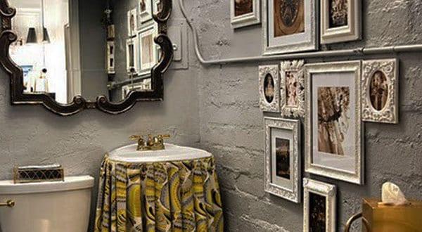 Bilderrahmen dekorieren badezimmer wandgestaltung freshouse for Badezimmer wand dekorieren