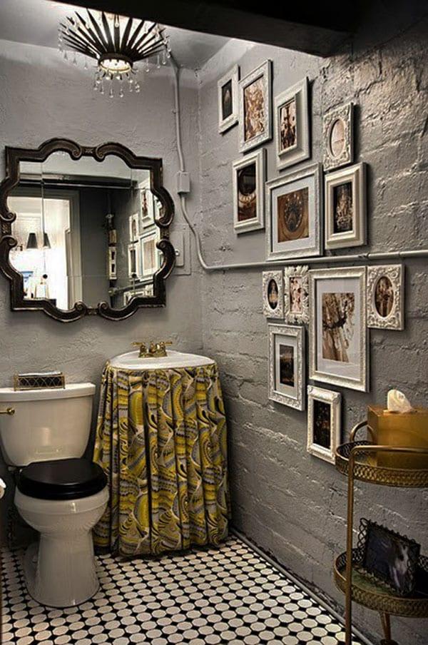 Bilderrahmen Dekorieren Badezimmer Wandgestaltung Freshouse