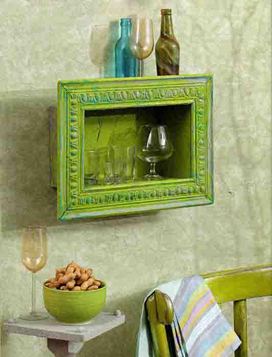 bilderrahmen dekorieren bastel idee freshouse. Black Bedroom Furniture Sets. Home Design Ideas