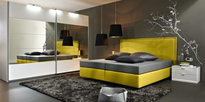 Box Spring Bett – 25 Ideen für modernes Schlafzimmer mit box-spring Bett