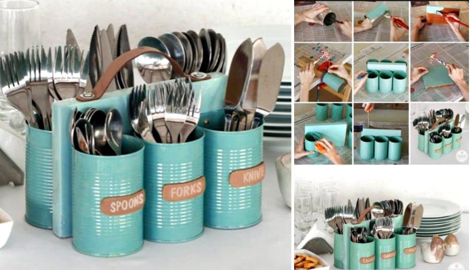 coole bastelideen-küchendeko ideen - fresHouse