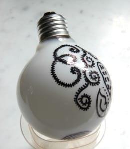 coole bastelideen mit glühbirnen