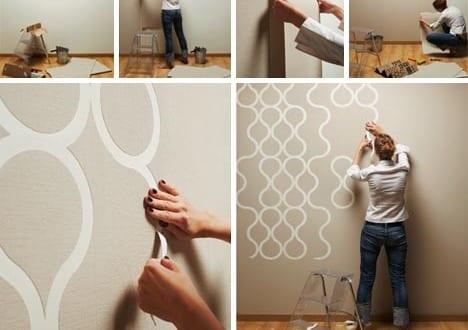 coole bastelideen-wanddeko selber machen - fresHouse