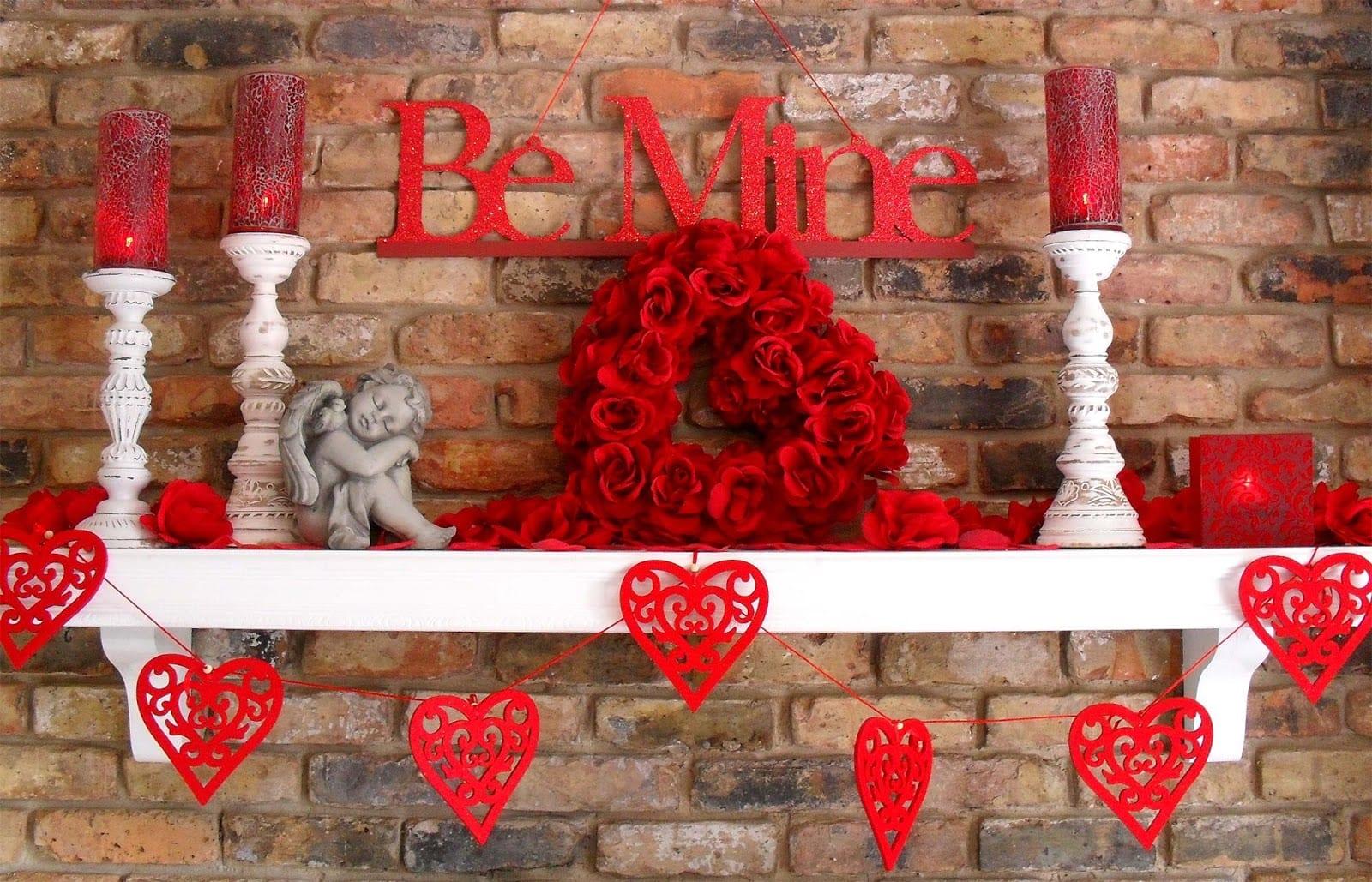 Coole Valentinstag Deko Mit Kerzen Freshouse