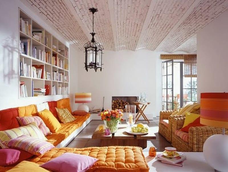 coole wohnzimmer inspirationen-wohnzimmer farbgestaltung - fresHouse