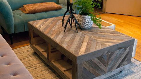 couchtisch selber bauen couchtisch aus holz freshouse. Black Bedroom Furniture Sets. Home Design Ideas