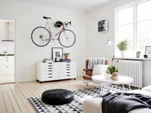 fahrrad im wohnzimmer - mein wohnzimmer