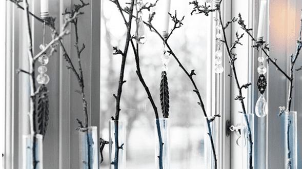 fensterbank dekorieren – deko selber machen