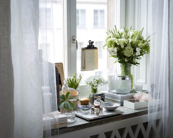 fensterbank dekorieren ideen freshouse. Black Bedroom Furniture Sets. Home Design Ideas