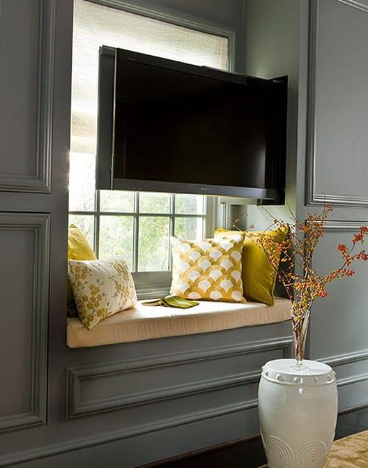fensterbank dekorieren mit tv freshouse. Black Bedroom Furniture Sets. Home Design Ideas