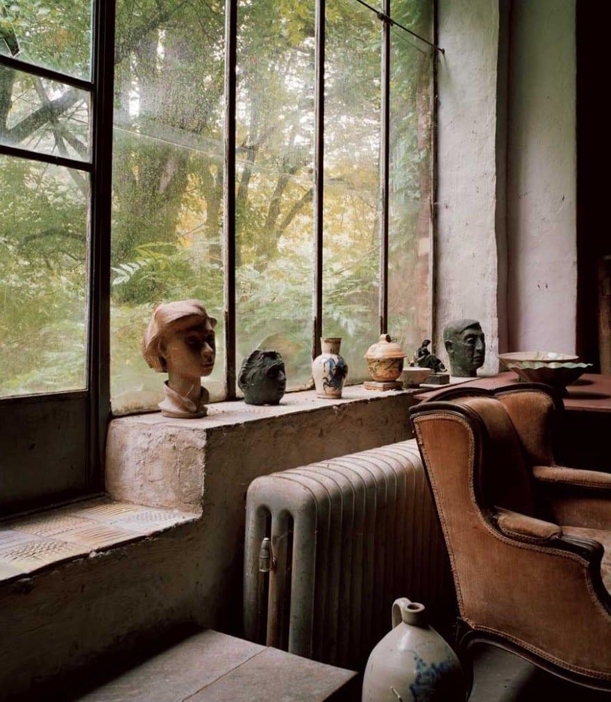 Fensterbank dekorieren skulpturdeko idee freshouse - Fensterbank deko kinderzimmer ...