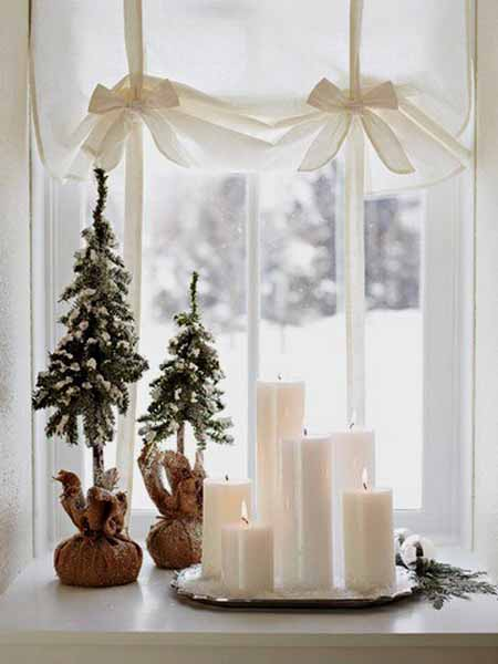 Fensterbank Dekorieren Weihnachten With Weihnachten Deko