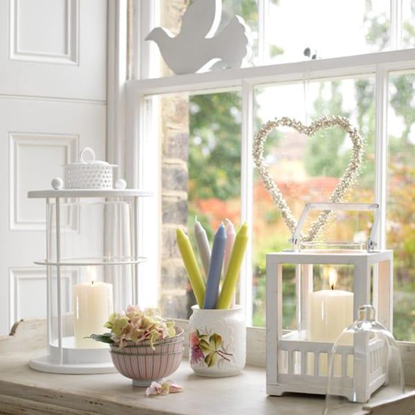 fr hlingsdeko fensterbank freshouse. Black Bedroom Furniture Sets. Home Design Ideas