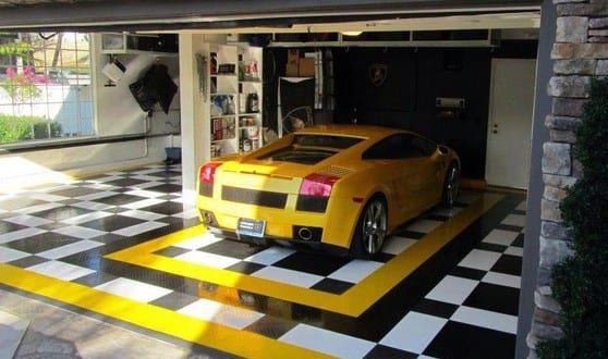 Haus mit Garage – die moderne Garage
