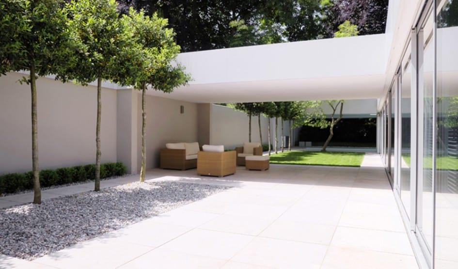 haus und garten-garten ideen mit überdachter terrasse - fresHouse