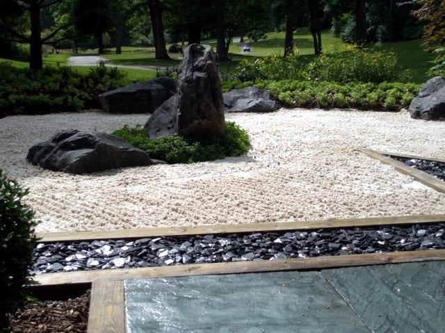 Japanische Garten Design Steingarten Ideen Freshouse