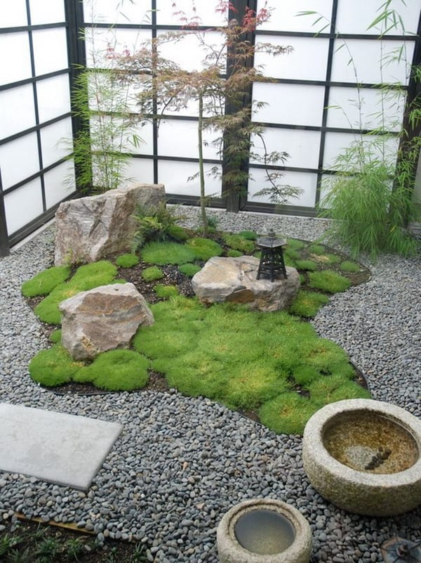 japanische garten-zen steingarten design - fresHouse
