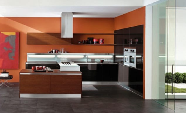k che wandfarbe k che von copat freshouse. Black Bedroom Furniture Sets. Home Design Ideas