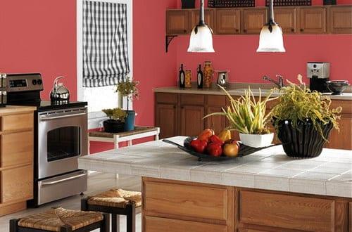 k che wandfarbe dunkelrosa freshouse. Black Bedroom Furniture Sets. Home Design Ideas