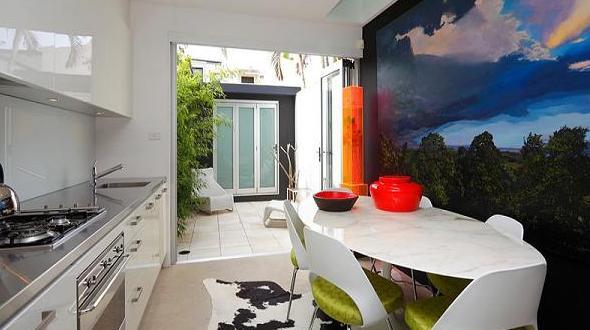 Küche Wandfarbe – 40 Ideen für Farbgestaltung der Küche