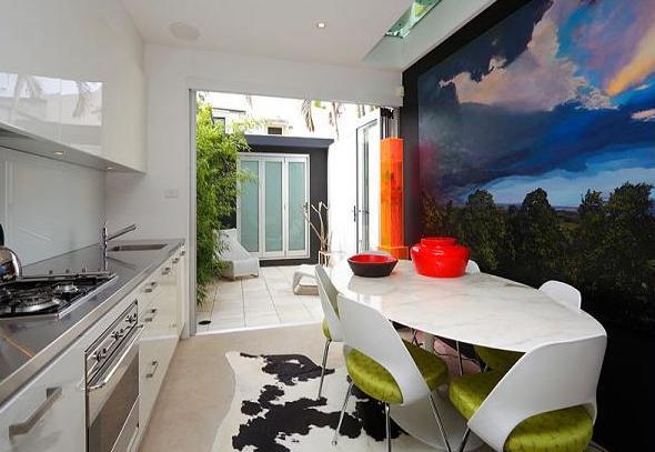 küche wandfarbe-tapete küche - fresHouse