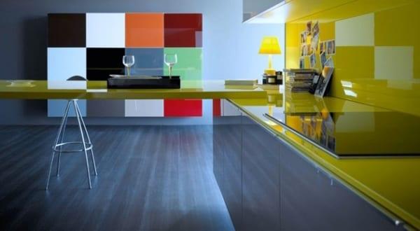 küche wandfarbe von  Logoscoop