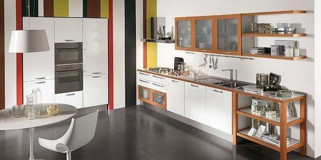 Küche Wandfarbe Wandmuster Küche