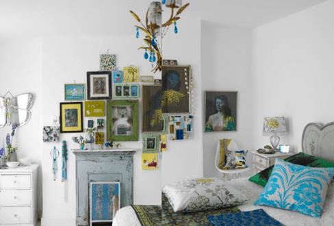 kreative ideen wandgestaltung bilderrahmen dekorieren. Black Bedroom Furniture Sets. Home Design Ideas