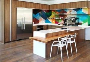 kreative küche wandfarbe