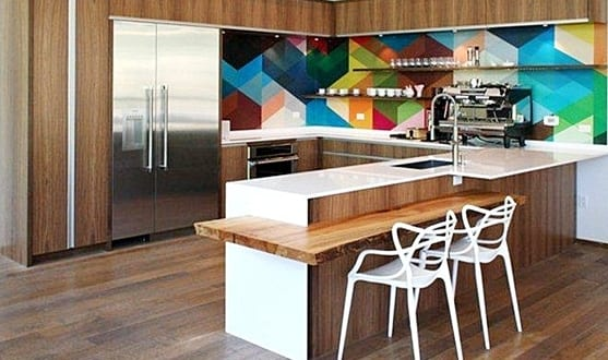 kreative k che wandfarbe freshouse. Black Bedroom Furniture Sets. Home Design Ideas