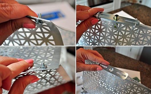 lampe aus metall selber basteln freshouse