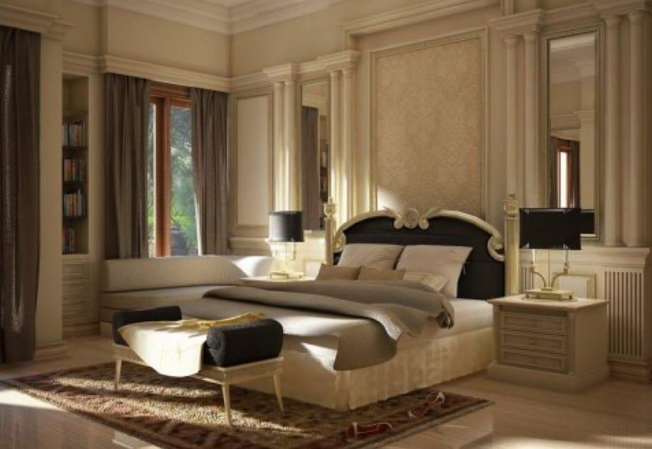 Entzuckend Luxus Schlafzimmer Beige Wandfarbe