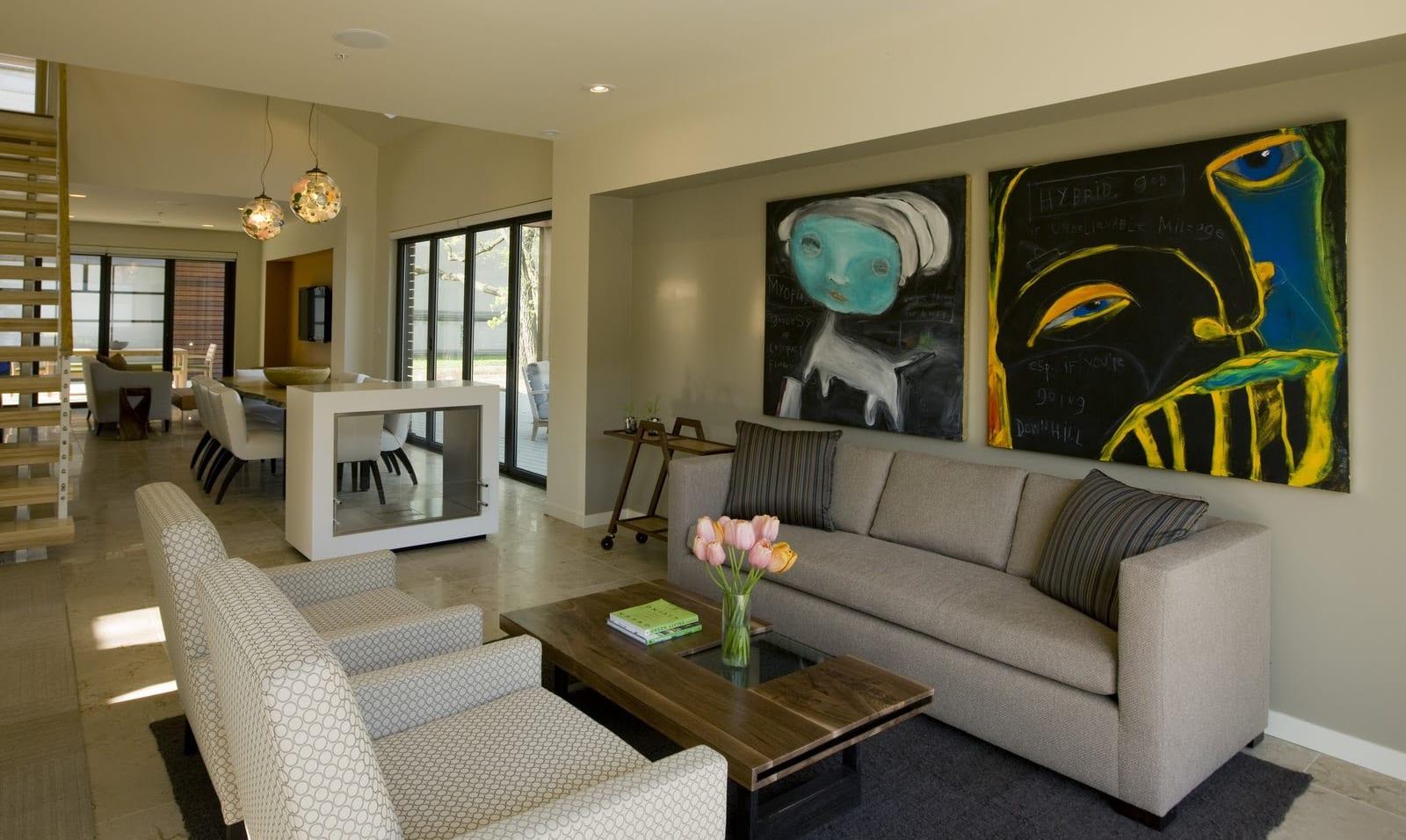 Charmant Luxus Wohnzimmer Design Wohn Esszimmer