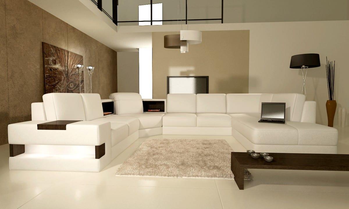 luxus wohnzimmer mit beige wandfarbe - Wohnzimmer Beige