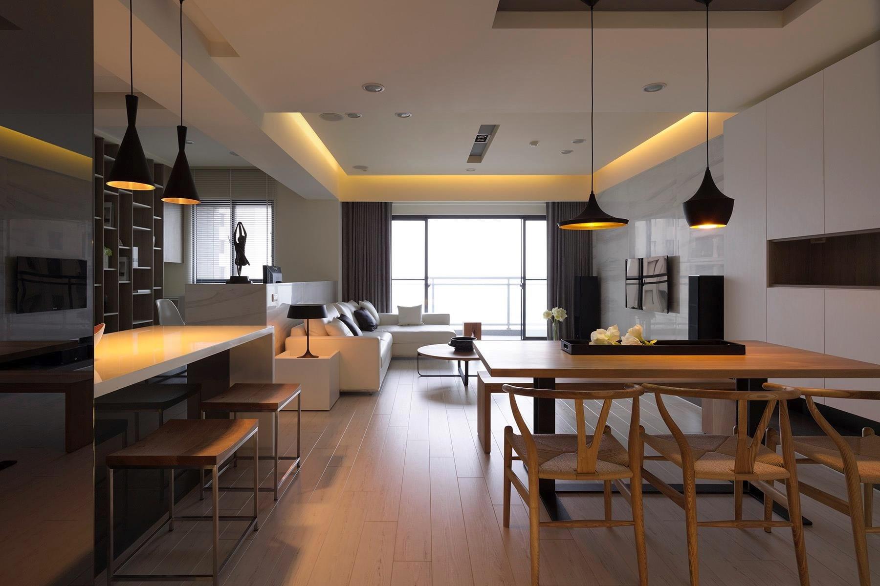 Luxus Wohnzimmer Raumgestaltung Wohn Esszimmer
