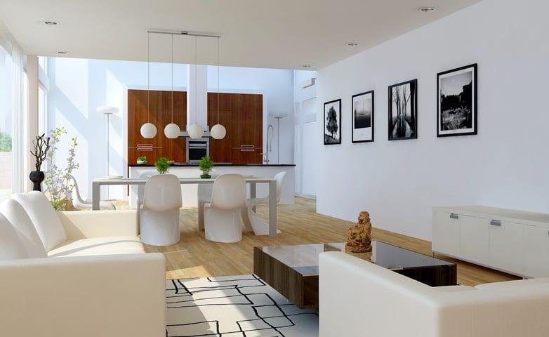 Luxus Wohnzimmer Weiss : Luxus wohnzimmer weiß ideen für wohn esszimmer freshouse