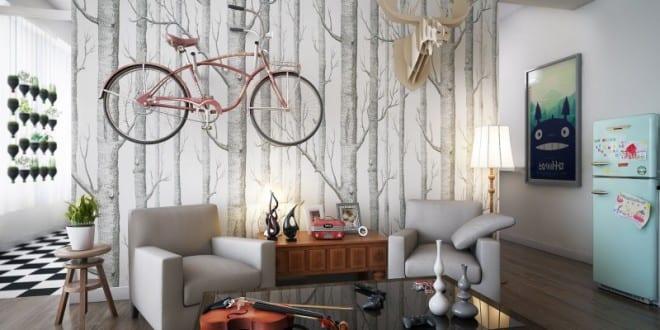mein wohnzimmer – fahrrad im wohnzimmer