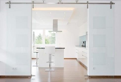 Erstaunliche Bilder glasschiebetür küche - Am besten ausgewählte ...