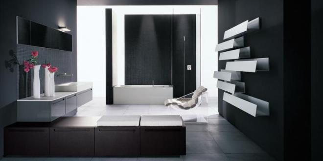 modernes badezimmer schwarz wei badezimmer streichen ideen freshouse. Black Bedroom Furniture Sets. Home Design Ideas