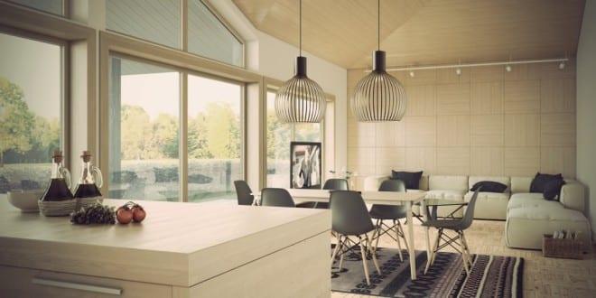 Genial Modernes Wohn Esszimmer Wohnzimmer Inspirationen
