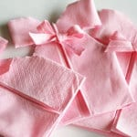 servietten falten-kreative tischdeko mit servietten falten anleitung