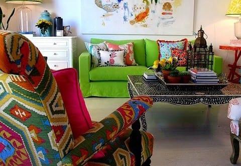 Schöner Wohnen Farbrausch Wohnzimmer Farbgestaltung Freshouse