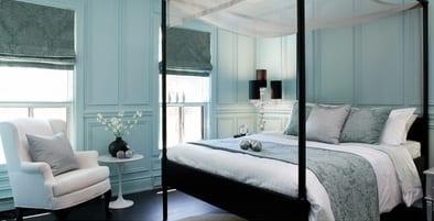 Schlafzimmer Blauwände Hellblau FresHouse - Schlafzimmer hellblau